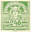 [Newspaper Stamps - Thin White Paper, type XBN17]