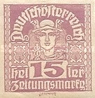 [Newspaper Stamps - Thin White Paper, type XBN8]