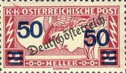 [Overprinted Express Stamp of 1919 Surcharged, Typ XBO]