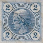 [Newspaper Stamps - Grantie Paper with Varnish Bars, type XCA4]