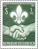 [The 50th Anniversary of the Boy Scout Movement in Austria, Typ YS]
