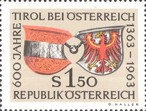[The 600th Anniversary of the Tyrol in Austria, Typ ZI]