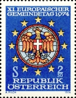[Unissued - European Communities Day Postponed, type F]