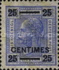 [Austrain Postage Stamps Surcharged, type A3]