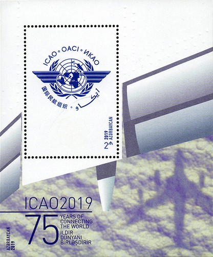 [The 75th Anniversary of ICAO - International Civil Aviation Organization, Typ ]