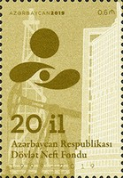 [The 20th Anniversary of the State Oil Fund, Typ AZL]