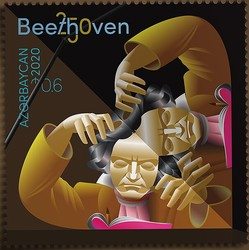 [The 250th Anniversary of the Birth of Ludwig van Beethoven, 1770-1827, type BFI]