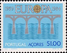 [EUROPA Stamps  - The 25th Anniversary of the Conference of Postal and Telecommunications Administrations(CEPT), type ]