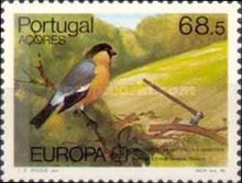 [EUROPA Stamps  - Nature Conservation - Azores Bullfinch, type ]