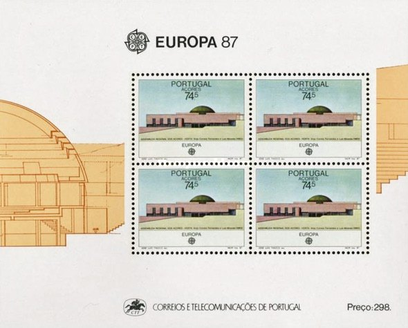 [EUROPA Stamps - Modern Architecture, type ]