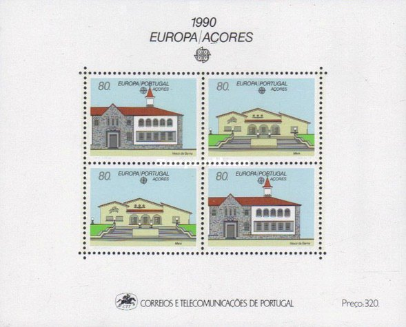 [EUROPA Stamps - Post Offices, type ]