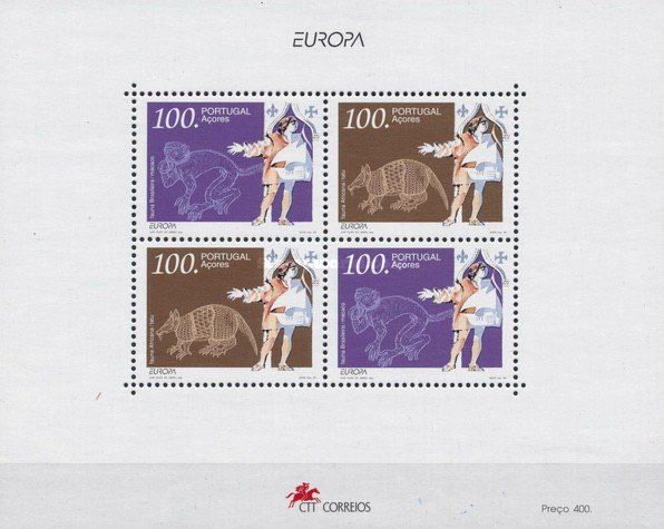 [EUROPA Stamps - Great Discoveries and Inventions, type ]