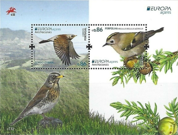 [EUROPA Stamps - National Birds, type ]