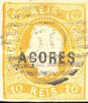 [King Luis I - Portoguese Stamps Overprinted, type A1]