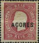 [King Luis I - Portuguese Stamps Overprinted, type A9]