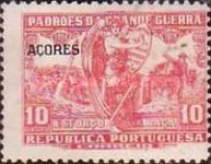 """[Portoguese Stamps Overprinted """"Azores"""", type AK2]"""