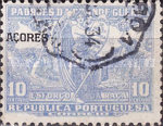 """[Portoguese Stamps Overprinted """"Azores"""", type AK3]"""