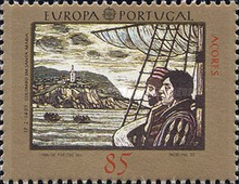 [EUROPA Stamps - The 500th Anniversary of the Discovery of America, type EV]