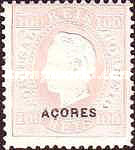 [King Luis I - Portuguese Stamps Overprinted