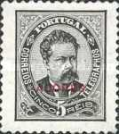 """[Portoguese Stamps Overprinted """"Azores"""" in Small, type H]"""