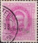 """[Portoguese Stamps Overprinted """"Azores"""" in Small, type H2]"""