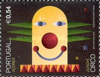 [EUROPA Stamps - The Circus, type HA]