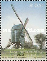 [Joint Issue with Belgium - Windmills - Ilha Do Faial, type HC]