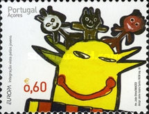 [EUROPA Stamps - Integration through the Eyes of Young People, type HY]