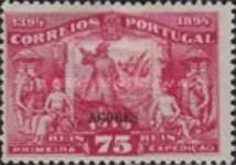 [Portuguese Stamps Overprinted