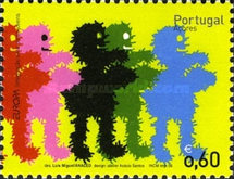 [EUROPA Stamps - Integration through the Eyes of Young People, type IA]