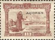 [The 700th Anniversary of the Birth of Saint Antonius of Padua. Portoguese Stamps No.109-123 Overprinted