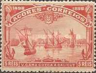 [The 400th Anniversary of the Discovery of the Sea Route to India - Vasco da Gama, type L]