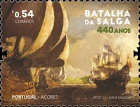 [The 440th Anniversary of the Battle of Salga, type MS]