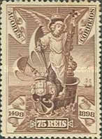 [The 400th Anniversary of the Discovery of the Sea Route to India - Vasco da Gama, type P]