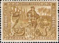 [The 400th Anniversary of the Discovery of the Sea Route to India - Vasco da Gama, type R]