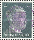 [Hitler - German Empire Stamps 1941-1945 Overprinted Bad Gottleuba's Signature Stamp, type A2]