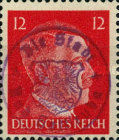 [Hitler - German Empire Stamps 1941-1945 Overprinted Bad Gottleuba's Signature Stamp, type A7]