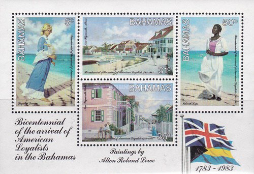 [The 200th Anniversary of Arrival of American Loyalists in the Bahamas, Typ ]