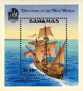 [The 500th Anniversary (1992) of Discovery of America by Columbus, Typ ]