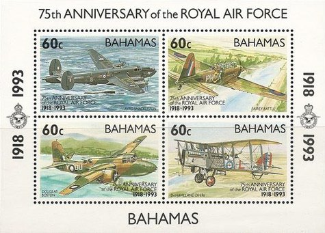 [The 75th Anniversary of Royal Air Force, Typ ]