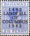 [The 450th Anniversary of Landing of Columbus - Stamps of 1931-1941 Overprinted
