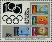 [The 100th Anniversary of International Olympic Committee, Typ ABB]