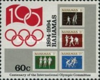[The 100th Anniversary of International Olympic Committee, Typ ABD]