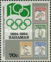 [The 100th Anniversary of International Olympic Committee, Typ ABE]