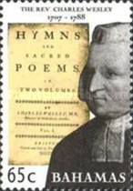 [The 300th Anniversary of the Birth of Charles Wesley, 1707-1788, Typ ATE]