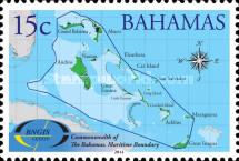 [The 10th Anniversary of BNGIS - Bahamas National Geographic Information Systems, Typ BBI]