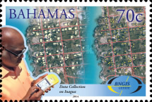 [The 10th Anniversary of BNGIS - Bahamas National Geographic Information Systems, Typ BBL]