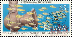 [The 75th Anniversary of the World's First Undersea Post Office, Typ BBO]