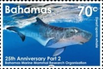 [Whales -  The 25th Anniversary of the Bahamas Marine Mammal Research Organisation, Typ BDO]