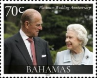 [The 70th Anniversary of the Wedding of Queen Elizabeth II and Prince Philip, Typ BDW]